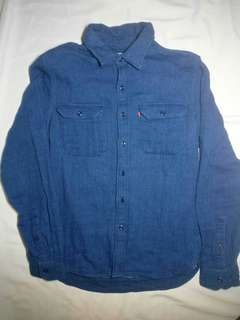 Levi's Indigo Dyed Shirt Men's Small Brand new