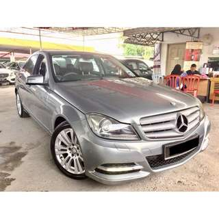2014 Mercedes Benz C200 (A) CGI FUL SVC RECRD BENZ