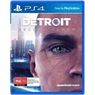 Detroit Become Human (Code Unredeem)