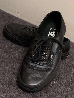 Vans Black Leather