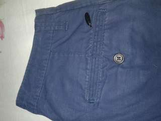 Celana Chino (biru dongker)