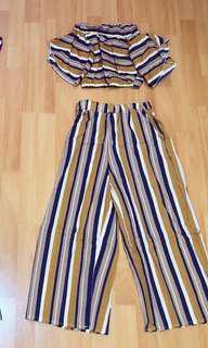 One set stripe