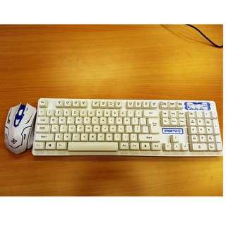 無線鍵盤滑鼠組合