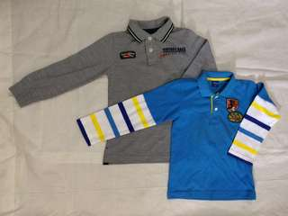 Lot of 2 shirts for boys: Zara & Mickey for 4-6y