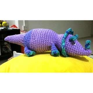 Crochet Dinosaur Triceratops