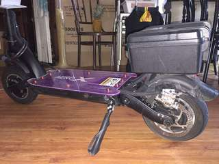 Dualtron S (converted to dual motor)..