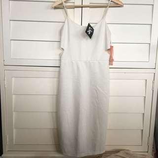 Brand new white cut out dress cocktail