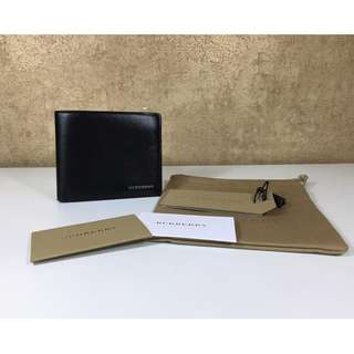 BURBERRY 3997608 LONDON LEATHER COLLECTIONID BILLFOLD WALLET