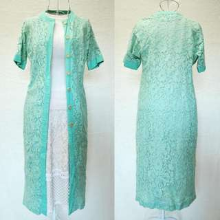 LACE COVER UP / Blazer (Tiffany Blue)