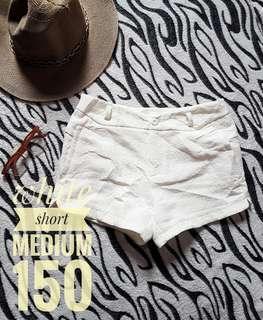 Sexy white short