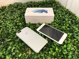 9成新,絕無花,非常錫機。行貨大機 IPhone 6S Plus 64G ,銀色,歡迎試清楚先買,100%全機正常操作
