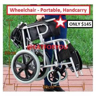 Wheelchair (Compact, Portable, Car Friendly)