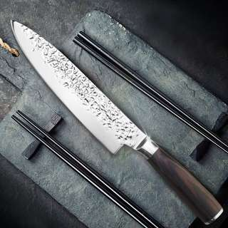 Japanese Style 8 inch Chef Knife Wooden Handle