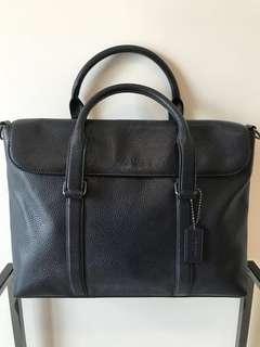 COACH dark blue working bag