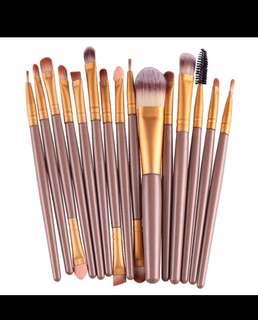 20 pcs Pro make up brushes set