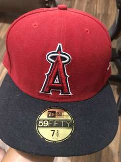 topi new era snapback 59 FIFTY ( Los Angeles Angels )