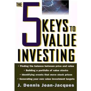 The 5 Keys to Value Investing (256 Page Mega eBook)