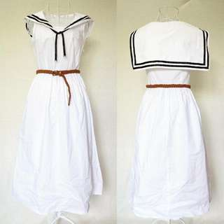 Sailor Midi Dress
