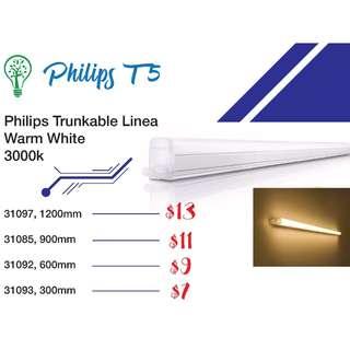 Philips Trunkable Linea LED batten wall light/t5 tube