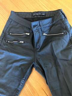 Bombshells by Jag Leather Look Jeans