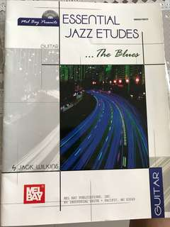 Jazz Guitar Etude Book