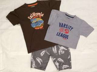 Lot of 3 for boys 8-10y