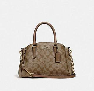 ( PREORDER WITHIN 25 - 30DAYS FROM US )  LATEST DESIGN !!   AUTHENTIC COACH F29434 MINI SAGE CARRYALL