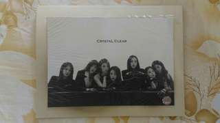 CLC Black dress post card and sticker set (official from 20