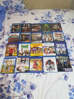 Blu Ray Brand New Movie Collection 100% Original