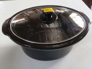 POT SLOW COOKER CERAMIC