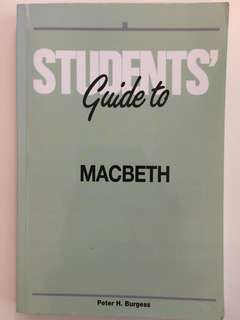 MACBETH STUDENT GUIDE