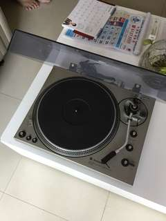 Technics direct drive automatic record player
