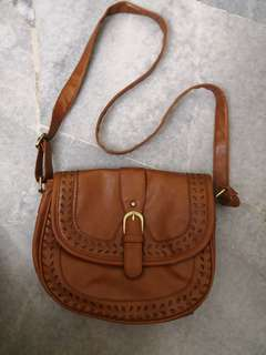 Sling Bag with buckle