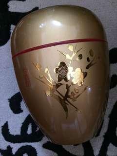 日本金澤金漆花瓶