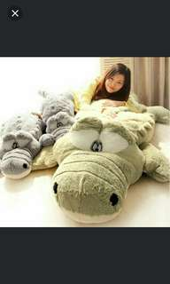 (In Stock) 50cm Crocodile Plush Soft Toy