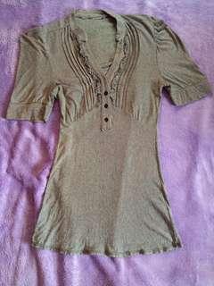 women's office blouse