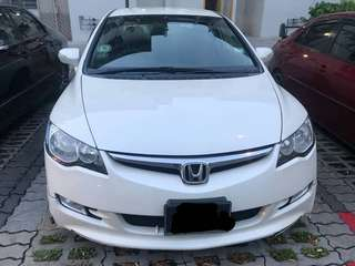 Honda Civic Fd 2.0 Manual 2008