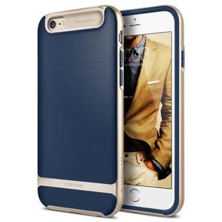 871. Caseology Wavelength Series iPhone 6S Plus Cover Case with Pattern Slim Protective for Apple iPhone 6S Plus (2015)/iPhone 6 Plus (2014) - Navy Blue