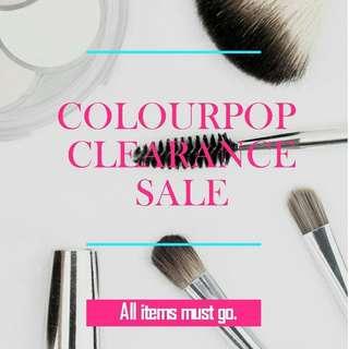 Clearance Sale: ORIGINAL Colourpop Lippies