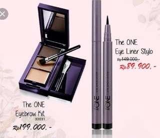 Eyebrow Kit dan Eyeliner stylo Paket Hemat