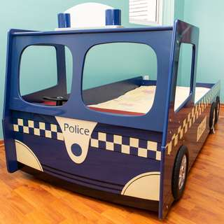 Kid's Police Bed Frame