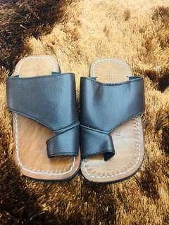 Brown Kid's modern capal / Chapal / Sandal