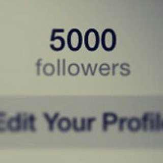 Account Instagram 5k Follower