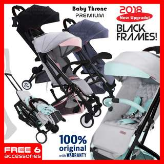 BABY THRONE PREMIUM STROLLER-(Easy Fold )