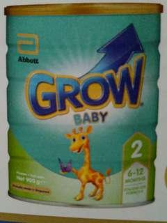 GROW baby milk powder