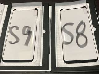 Samsung S8,S9 全粘全屏弧邊 鋼化玻璃保護貼