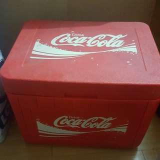 Coke coca cola ice cooler large