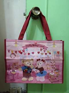 🚚 日本 迪士尼 絕版 達菲 雪莉梅 環保 購物袋
