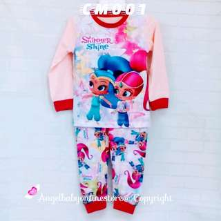 (Nett Price) Shimmer & Shine Sleepwear CM001