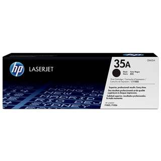 🚚 HP 35A Black Original LaserJet Toner Cartridge (CB435A)